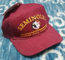 90S NWT VTG FLORIDA STATE SEMINOLES DREW PEARSON HAT NEW COLLEGIATE BALL CAP