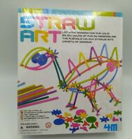 4M Create Your Own Straw Art Kit  -RARE!