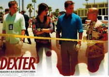 DEXTER SEASON 5 & 6 TRADING CARDS BASE SET OF CARDS WITH DISPLAY BOX