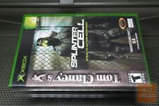 Tom Clancy's Splinter Cell (Xbox 2002) FACTORY SEALED! - RARE!