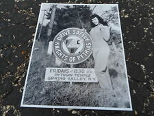 8x10 Photo - Bettie Page - Pinup Model - #BP444 -Drive Safely Knights of Pythias