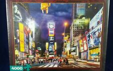 Buffalo Games 4000 pc Jigsaw Puzzle New York City Time Square 52x38 Huge NIB