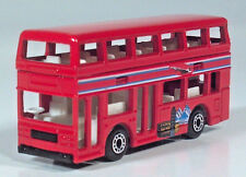 "Matchbox London Bus Tour Double Decker 3"" Big Ben Eiffel Tower Leyland Titan"