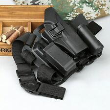 Tactical Drop Leg Thigh Rig Holster wit Magazine Torch Pouch for GLOCK 17 18 22