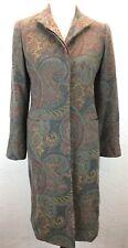 #S43 Ralph Lauren Black Label Sz 6 USA Union Made 100% Lambswool Wool Coat