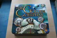 The Golden Compass DVD Board game in Collectors tin Opened But Sealed