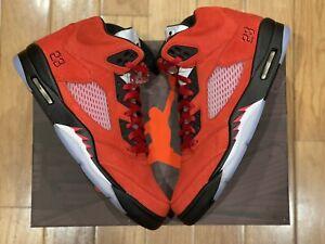 2021 Nike Air Jordan 5 Raging Bull DD0587-600 Sizes IN HAND SHIPS NOW 🔥🐃