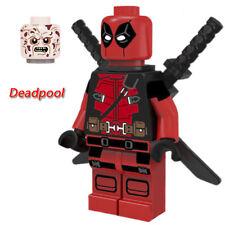 DEADPOOL mini figure MiniFigure Marvel Super Hero Building Blocks Kids Toy