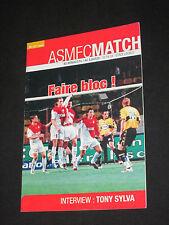 Programme football AS MONACO AC AJACCIO LIGUE 1 CHAMPIONNAT FRANCE 2004