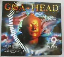 GOA-HEAD VOLUME 9 - TRANCE PSYCHEDELIC TECHNO 2-CD SET