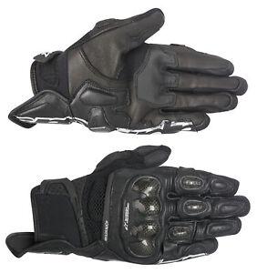 Alpinestars Stella SPX Air Carbon Womens Motorcycle Gloves Black