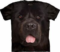 The Mountain Big Face Newfie Dog Animal Pet Adorable Adult T Tee Shirt 103933