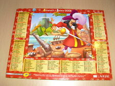 Almanach du Facteur 2008 (Tarn-81)  Disney Peter Pan / Le livre de la jungle