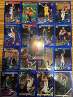 Panini Donruss Optic Blue Velocity Lot (17) Sp Refractor Rare