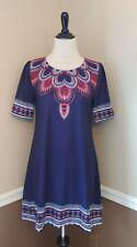 NWT Modcloth Dress S Creative Direction Navy Blue Boho Shift Tunic by Sunny Girl