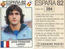 284 JEAN-FRANCOIS LARIOS FRANCE ORIGINAL STICKER PANINI WORLD CUP ESPANA 1982