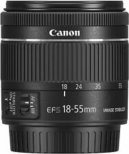 Standard zoom lens EF-S18-55mm F4.0-5.6IS STM APS-C compatible Canon From Japan
