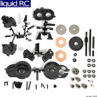 AX80009-1//10 RC Model Upgrade Parts Silver Axial Scx10 Gearbox Shell