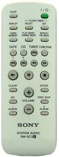 *NEW* Genuine Sony remote Control For CMTNEZ30 CMT-NEZ30