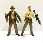 2pcs Lot Indiana Jones Hasbro Kingdom of the Crystal Skull Action Figure boy toy