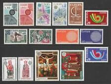 More details for andorra (fr) 1966, 67, 70, 73, 74, 75, 76, 77 europa sets mnh. cat approx £215