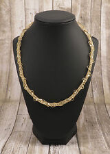 Decorus Necklace 18k Gold Plated Accents filled with Cubic Zirconia