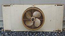 Vtg 50s Mid Century Modern Industrial Vornado Adjustable Metal Window Fan Atomic