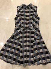 Beautiful Cue Check Dress Size 10