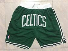 HOT Boston Celtics Retro Green Basketball Shorts Size: S-XXL