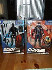 Gi joe classified series , Cobra Commander and Snake Eyes