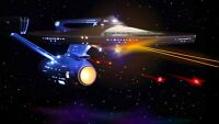 USS Enterprise NCC-1701 Refit/A Model Movie Quality LED Lighting/Sound Kit