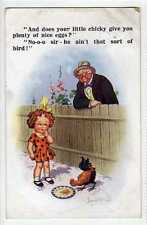 """(Lt448-357)  """"And Does Your Little Chicky Give You Eggs"""", Used, 1927, VG, McGill"""