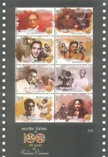 INDIA 2013 Miniature of 100 Years of Indian Cinema MNH 3/6 : SL 120