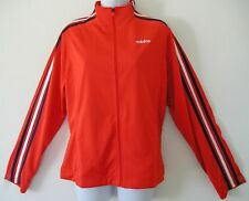 RARE~Adidas 3S DAZZLE Track sweat shirt top Jacket supergirl firebird~Womens L