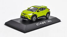 1/43 Toyota CHR C-HR Yellow Diecast Car model Collection Toy