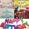 """16"""" Happy Birthday Foil Letter Number Balloons Birthday Wedding Party Decoration"""