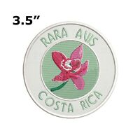 RARA AVIS COSTA RICA EMBROIDERED PATCH IRON / SEW-ON VACATION APPLIQUE