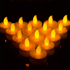 24 PCS Flameless Votive Candles Battery Operated Wedding LED Tea Light