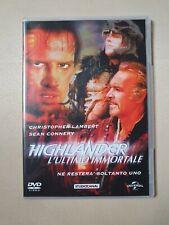 Dvd Highlander l'ultimo immortale (1986) Molto raro con cover slim