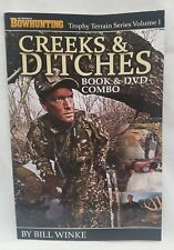 Petersen's Bowhunting Creeks & Ditches Book and DVD Trophy Terrain Bill Winke