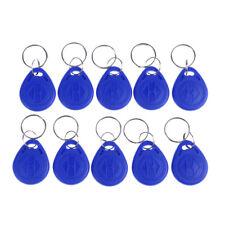 10Pcs Tk4100 keychains 125Khz Rfid proximity id card token tags key fobs Hv
