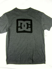 DC Shoes short sleeve skate t shirt men's Charcoal gray size SMALL