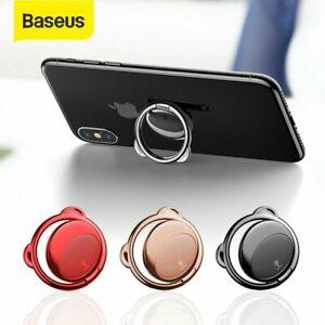 Baseus 360° Megnetic Car Cell Phone Finger Ring Holder Stand for iPhone Samsung