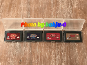 4 GAME The Legend of Zelda GBA-Seasons-Ages-Minish Cap-4 Swords/Link to the Past