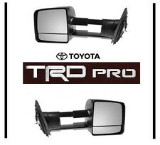 2015 2016  TOYOTA TUNDRA TRD PRO TOW MIRROR SET TOWING MIRRORS  OEM  OE