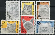 Bulgaria 1989 SG#3658-3663 Cats Cto Used Set #A92798