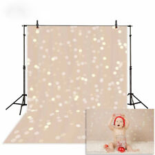 Bokeh photography backdrop yellow flesh pink sparkles glitter photo background