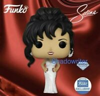 FUNKO POP SELENA WHITE DRESS DIAMOND COLLECTION FUNKO SHOP EXCLUSIVE PREORDER