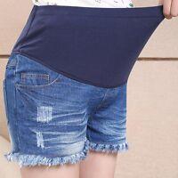 Overbumped Shorts Jeans Pants Denim Pregnancy Maternity Cute Comfy M/L/XL/2XL
