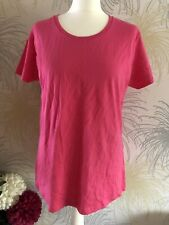 Fruit of the Loom Hot Pink T-shirt Size XXL